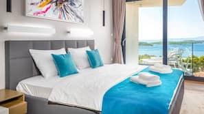 4 Schlafzimmer, Bügeleisen/Bügelbrett, Bettwäsche