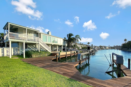 New Listing! Waterfront Haven W/ Pool & Boat Dock 5 Bedroom Home