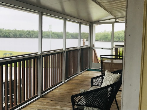 Water View Villa With Large Wrap Around Screened Deck