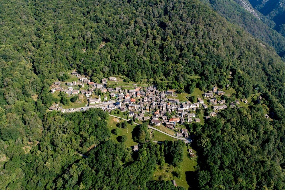 Aerial View, Ostello Val Grande