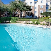 Free Breakfast + Easy Access to Downtown Outdoor Pool + 24-hour Fitness Center