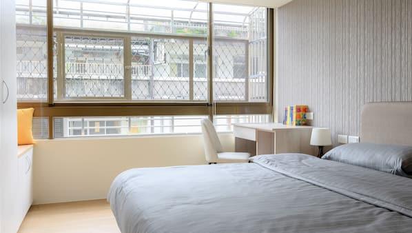 4 多间卧室、熨斗/熨衣板、上网接入