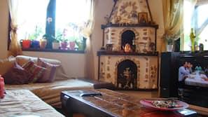 Flachbildfernseher, Fußbodenheizung