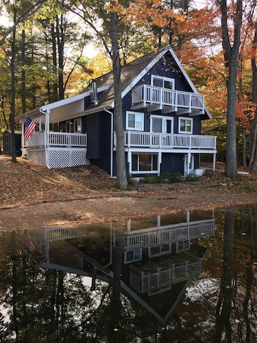 Featured Image, 3 Bedroom 6 bed Home two Story With Basement, 3 Decks on Privately Owned Lake