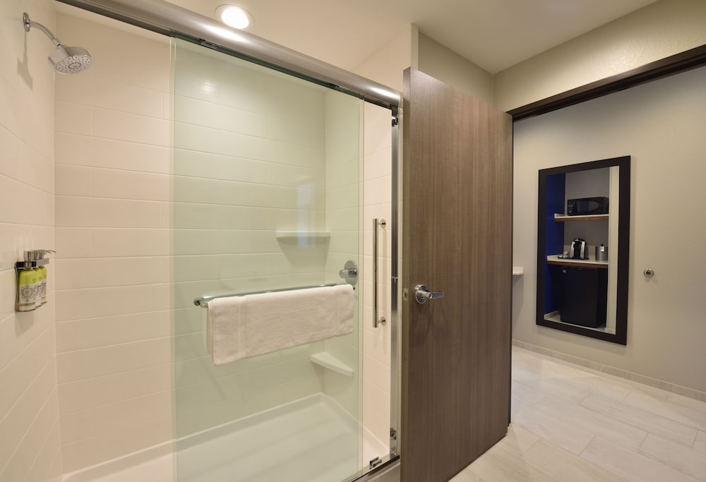 Bathroom Shower, Holiday Inn Express & Suites Houston North - Woodlands Area