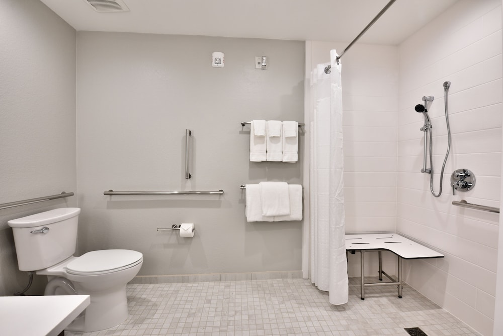 Bathroom, Holiday Inn Express & Suites Houston North - Woodlands Area