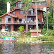 Silver Lake, Waterfront Property Sleeps 12