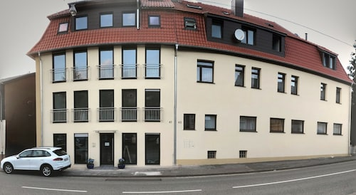 Waldstadion Kaiserlinde / シュ...