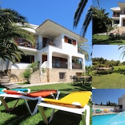 Only 100m to the Beach! Spacious Villa With Private Pool - 12 People