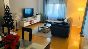 TV, toys