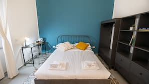 Blackout drapes, iron/ironing board, free cribs/infant beds, free WiFi