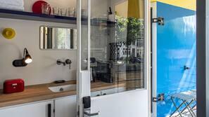 Safe på rommet, individuelt dekorert og individuelt innredet