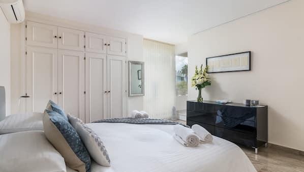 2 Schlafzimmer, Schreibtisch, Bügeleisen/Bügelbrett, kostenloses WLAN