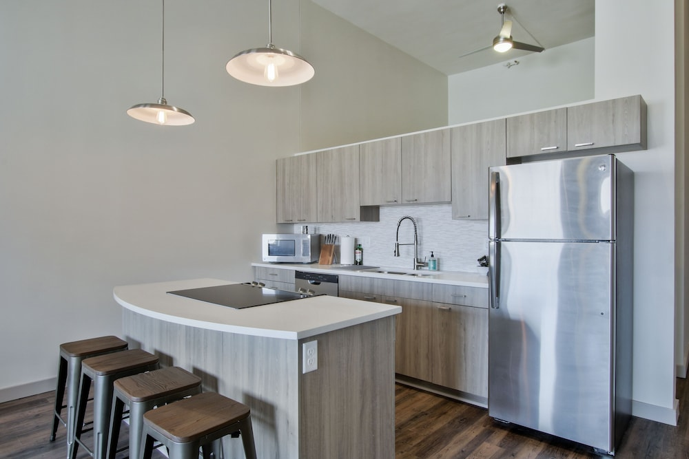 Private Kitchenette, The Old Town Luxury Lofts
