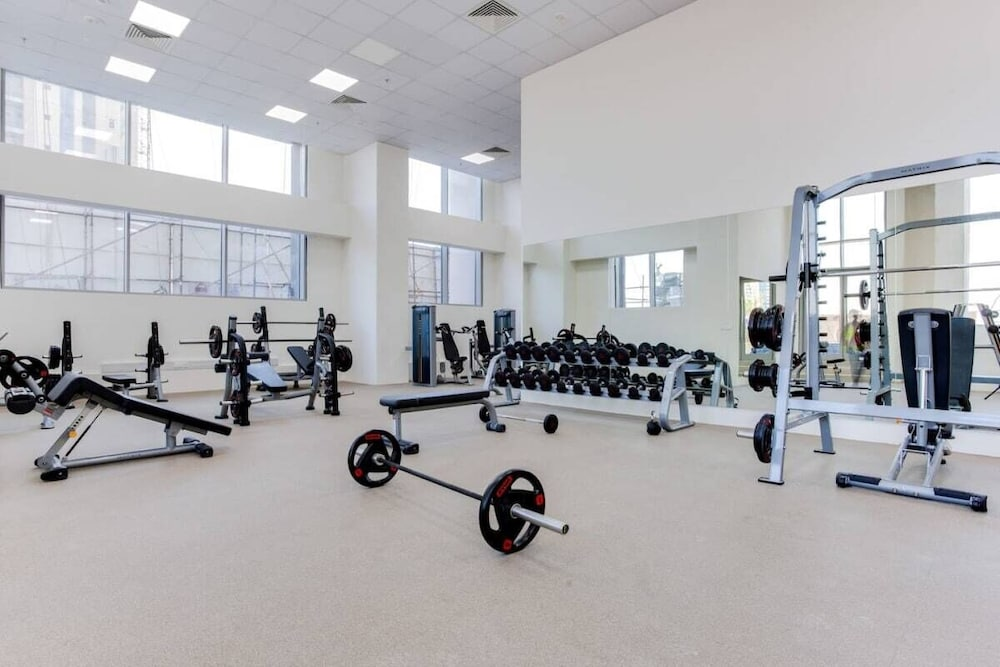 Fitness Facility, Exclusive Flat With Canal Views in Al Habtoor