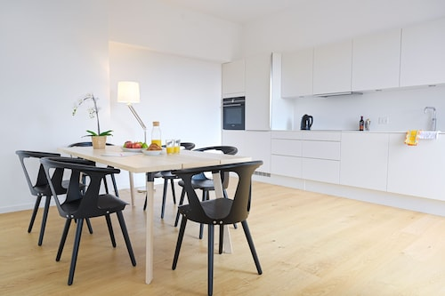 A Fantastic Duplex Apartment in Copenhagen Nordhavn