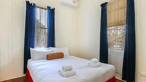 3 bedrooms, linens