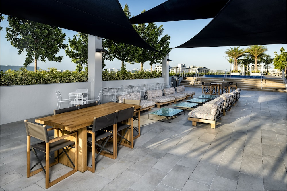 Rooftop terrace, The Bradley Wynwood