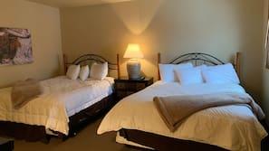 5 Schlafzimmer, individuell dekoriert, individuell eingerichtet