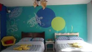 Individuelt dekorert, gratis wi-fi og sengetøy
