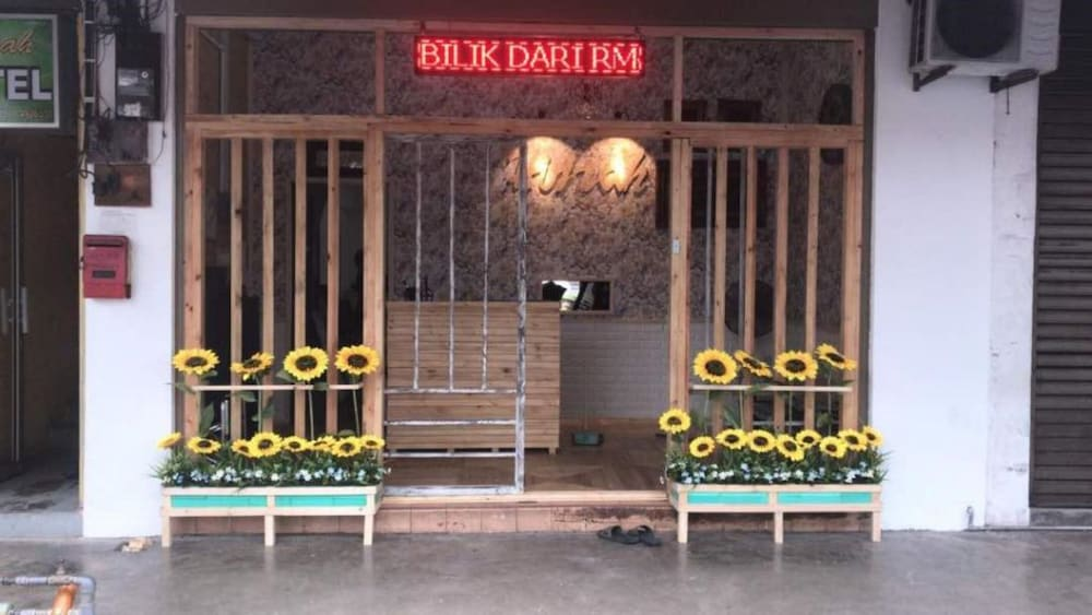 Property Entrance, Hijrah Hotel