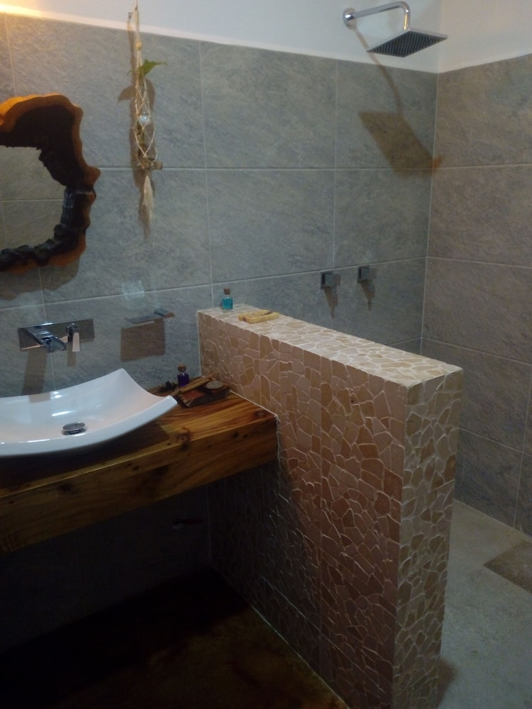 Bathroom, Madre Tierra Apartments