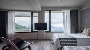 高級寢具、特厚豪華床墊、迷你吧贈品、設計自成一格