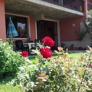 Morena apartment with garden and terrace overlooking the lake, ideal for relaxation and sports