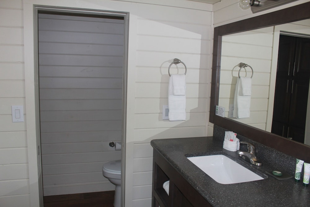 Bathroom, Cottage Cabin Sleeps 6 at Resort