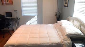1 Schlafzimmer, Bügeleisen/Bügelbrett, Bettwäsche