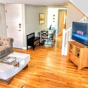 Sleeps 20! Near Stadiums & Harbor; Features Scenic Rooftop & Parking