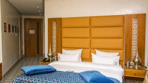 Minibar, in-room safe, blackout drapes, soundproofing