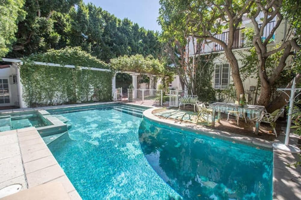 Pool, Beverly Hills Celebrity Home