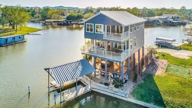 The Point - New Waterfront Oasis W/ Private Dock 3 Bedroom Home