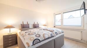 3 soveværelser, strygejern/strygebræt, baby-/barnesenge, Wi-Fi