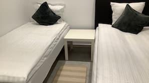 3 sovrum, internet och sängkläder