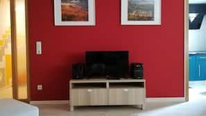 Fernseher, Stereoanlage