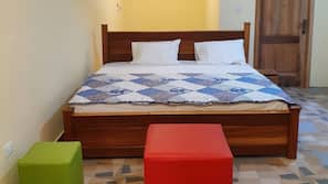 Premium bedding, memory-foam beds, individually furnished