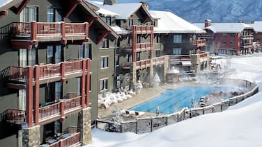True ski in, ski out at the prestigious Ritz-Carlton Club