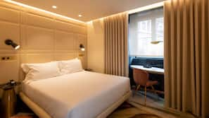 Minibar, in-room safe, blackout curtains, soundproofing