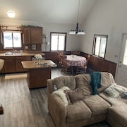 Chalet in the Woods Across From Off-road Trails!