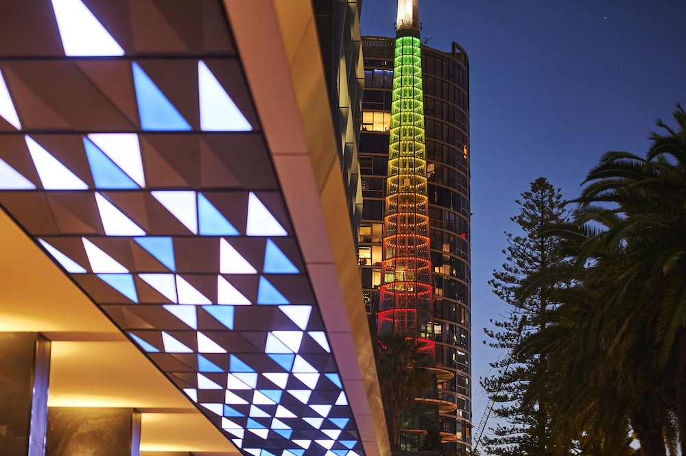 Exterior detail, DoubleTree by Hilton Perth Waterfront