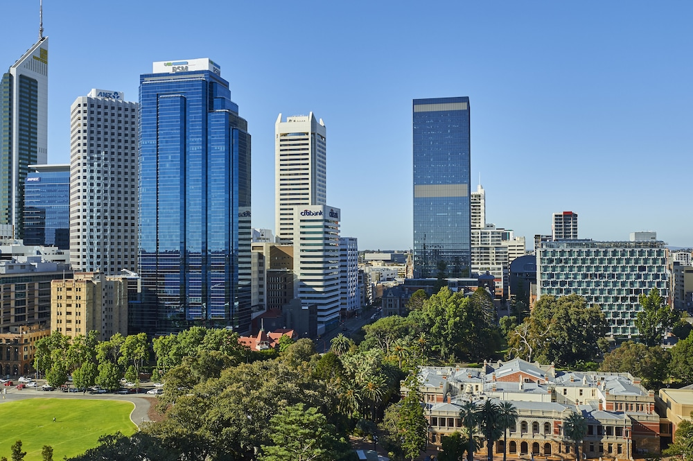 City View from Property, DoubleTree by Hilton Perth Waterfront