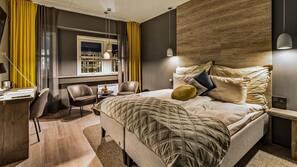 Wi-fi (inkludert) og sengetøy