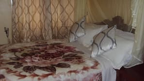 Laptop workspace, free WiFi, bed sheets, wheelchair access