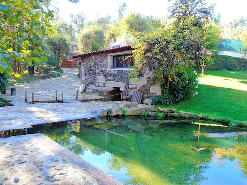 House With one Bedroom in Fermil, Santa Tecla de Basto, With Wonderful Lake View and Shared Pool