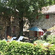 House With one Bedroom in Dompnac, With Wonderful Mountain View and Enclosed Garden