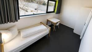 Schreibtisch, schallisolierte Zimmer