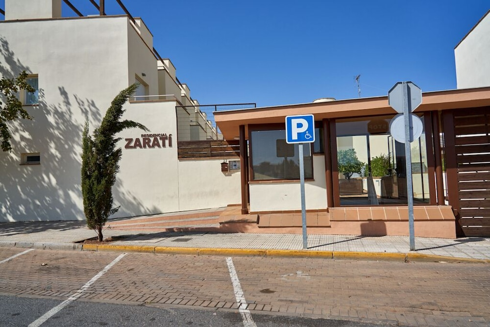 Exterior, Beachfront Apartment, With Pool and Urban Areas. Zarati