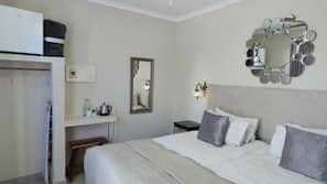 Minibar, blackout curtains, iron/ironing board, free WiFi